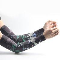 mangas de braço feminino venda por atacado-Homens Quick Dry relâmpago Liberação Arm Warmers Mangueira Manguito de Proteção UV Feminino Esportes Ao Ar Livre Livrar o Braço Mangas