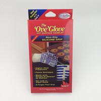 oven eldiven ove toptan satış-Ove Eldiven Mikrodalga fırın Eldiven 540 F Isıya Dayanıklı Pişirme Isı Geçirmez Fırın Mitt Eldiven Sıcak Yüzey Işleyici HHA7