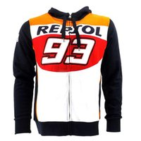 Wholesale riding jackets - VR46 93 Repsol Riding club group jacket GP Race Downhill cycling Jersey MX RBX MTB racing coat Off-road Motocross Jersey