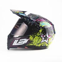 abs aprobado al por mayor-Nuevo casco de motocicleta de cara completa para hombre casco de moto de calidad superior capacete DOT aprobado Star off road casco de motocross