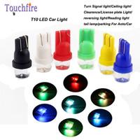 breite lampe geführt großhandel-10 stücke T10 LED kennzeichen Auto anzeige Lampe breite 12 v parksignal Deckenleuchte nebelscheinwerfer Instrument styling Reverse