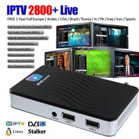 Wholesale dvb s2 hd - 1 Piece IPHD Super IPTV TV box Full HD with 1 Year IPHD IPTV 2800+ Live channels   Stalker   DVB-S2   Linux OS better mag250