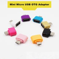 otg-tastatur groihandel-Mini Micro USB zu USB OTG Adapter Konverter für Android-Handys Maus Tastatur USB-Sticks