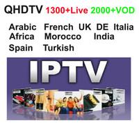 iptv android quad venda por atacado-1300+ QHDTV 3 6 12 meses Árabe Esportes Alemanha Europa Francês Iptv Indian Turquia Channels Streaming IPTV Conta Apk Trabalho em Android mag 254