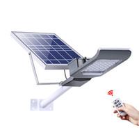 neue solar-led-leuchten großhandel-2018 NEUE solar led straßenleuchte 20 Watt 30 Watt 40 Watt 50 Watt 100 Watt Hohe Helligkeit 3030 LED IP65 Outdoor Solar Flutlicht