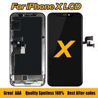 Wholesale original touch screen digitizer - Hot Selling For iPhone X LCD Display Screen Panels Touch Screen Digitizer with Frame Full Assembly Replacement 5.8 Inch Original