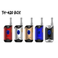 Wholesale A3 Quality - Top quality TH-420 Mini Box Mod starter kit A3 Cartridges G2 Atomizer Cartridges with 650mAh Adjustable Variable Voltage Battery vapes Kit