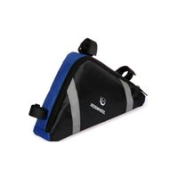 Wholesale sports articles online - Leisure time do sport bicycle bag mountain outdoors cycling triangle with reflective article PVC appearance simple practical bag