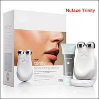 Wholesale lips seals resale online - Small Package Nuface Trinity Pro Facial Toning Device Kit White top quality Brand New Sealed DHL