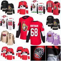 ottawa senador jersey al por mayor-Nueva Temporada Ottawa Senators Jerseys 7 Brady Tkachuk 8 Bobby Ryan 61 Mark Stone 74 Mark Borowiecki 5 Cody Ceci 72 Camisetas de hockey Thomas Chabot