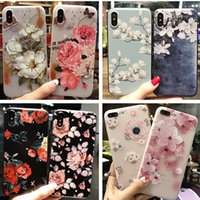 Wholesale fit personality - Flowers for iPhone7 Mobile Shell Cover 8 Cover 6plus Lanyard New for iPhone6S Personality Creative X