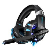 Wholesale laptop games online - Onikuma K2A Gaming Headset PS4 Wired Stereo Game Headphones Casque Gamer Headset with Mic for Computer Laptop Phone LED Lights