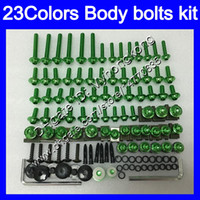 Wholesale abs plastic yzf r1 resale online - Fairing bolts full screw kit For YAMAHA YZFR1 YZF R1 YZF YZF1000 YZF R1 Body Nuts screws nut bolt kit Colors