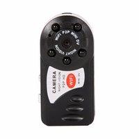 ip kamera için mini dvr toptan satış-Yeni Mini Kamera 720 P Wifi DV DVR Kablosuz IP Kam Marka Yeni Mini Video Kamera Kaydedici Kızılötesi Gece Görüş Küçük kamera