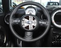 fenêtre drapeau pour la voiture achat en gros de-Sticker volant personnalisé pour Mini Cooper Angleterre Royaume-Uni drapeau de riz autocollant intérieur de voiture autocollant Epacket gratuit