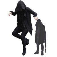 Wholesale cool clothes designs - Fashion mens casual clothing men's hoodies sweatshirts 2018 new design style dazzle cool mysterious novelty clothes mens casual coat 4size