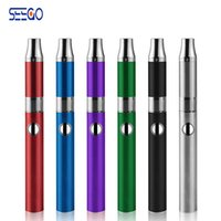 g ручка воска e сигарета оптовых-Seego 14F Starter Kit G-Hit Vape Pen 650mah воск сухой травы испаритель Pen E сигареты комплекты