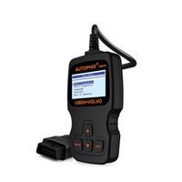 escáner de código srs al por mayor-Autophix ES610 OBD2 Lector de Código y Motor ABS SRS Airbag Transmisión Herramienta de Escáner de Diagnóstico Automático para Volvo