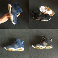 Wholesale lace up blue jeans resale online - 2018 With Box Mens Basketball Shoes S Black Cat Alternate Jeans Black Blue Brand Designer Shoes for Men Sneakers US7