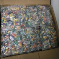 Wholesale Model Figures - 144 Styles Poke Figures Toys 2-3cm Pikachu Charizard Eevee Bulbasaur Suicune PVC Mini Model Toys For Children