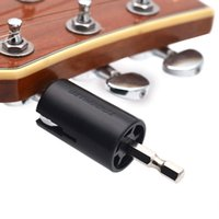 Wholesale electric string winder online - Assemble Electric Drill Hexagonal Guitar String Winder Head Tools For Electric Acoustic Guitar Bass Parts Accessories