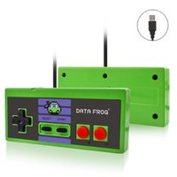 Wholesale usb pc game controller resale online - Retro Classic Custom Game Controller Wired USB Gamepad Joystick Playing Bit Games For PC Mac not for NES DHL FEDEX EMS