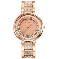 красивые стальные наручные часы оптовых-DHL Оптовая Lvpai Марка мода из нержавеющей стали горячие продажа Шарм алмазные часы дамы красивые женские часы браслет наручные часы