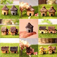 ingrosso miniature garden gnome-3cm carino resina artigianato casa fata giardino miniature gnome micro paesaggio decorazione bonsai per la decorazione domestica