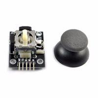 Wholesale game dual joystick for sale - Group buy 5 pin Dual axis Keypad PS2 Game Joystick Lever Sensor JoyStick Controller