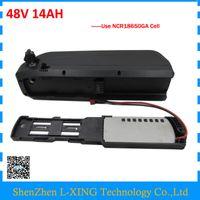 ingrosso sanyo lithium-1000W Potente pacco batteria al litio hailong 48V 14Ah per bici elettrica 48 V usa celle sanyo 18650GA SPEDIZIONE GRATUITA