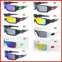 gafas de sol de viento al por mayor-10 UNIDS Moda Colorido Viento Popular Ciclismo Espejo Deporte Gafas Al Aire Libre Gafas de sol Gafas Para Mujeres Hombres gafas de Sol Envío Gratis