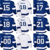Wholesale outlet point - Factory Outlet Mens Womens Kids Tampa Bay Lightning 15 Michael Bournival 17 Alex Killorn 18 Ondrej Palat 21 Brayden Point Ice Hockey Jerseys