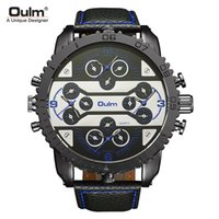 Wholesale watch world time for sale - Men watch quartz watch new four world time leisure trend fashion table HP3233
