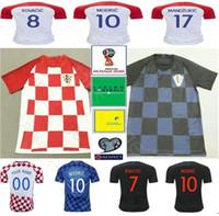 14946c083 Wholesale hrvatska jersey for sale - 2018 World Cup Hrvatska Soccer Jerseys  MODRIC PERISIC RAKITIC MANDZUKIC