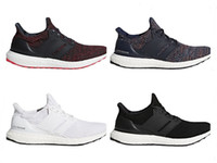 Wholesale real navy - Big Size Ultra Boost 4.0 Running Shoes Chinese New Year Black Navy Multi Color White Men Womens Real Boost Sneakers Size 36-48