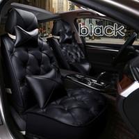 ingrosso set di copri sedili marrone-Confortevole copriletto per auto in 3D interamente intubato in stile europeo per gatti