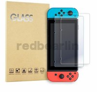 Wholesale n screen online - Real H Ultra clear Tempered Glass Screen Protector Film For Nintendo Switch Protective Film Cover For Nintendo Switch NS Accessories