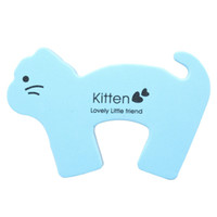 Wholesale animal cushions for kids for sale - MT269 Cartoon Animal Foam Door Stopper Protective Cushion Holder Lock Safety Guard for Children Kids Baby Door Catches Closers