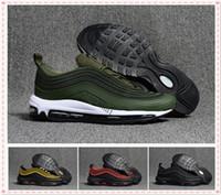 Wholesale big size shoes cheap - Big Size 40-47 Mens Trainers Sport Shoes Zapatillas Hombre 97 KPU Plastic Cheap Designer Shoes Fashion Wholesale Outdoor 97