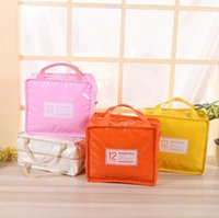 Wholesale port work - Insulation Lunch Box Bag Square Package Thermal Lunch Cooler Beam Port Work School Picnic Lady Handbag Kids Lunch Bags 50pcs OOA3834