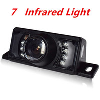 Wholesale Night vision infrared parking light automatic rear view wide angle view spare camera wide angle rear view car reversing camera