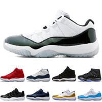 Wholesale Christmas Pig Plush - 11 Prom Night Mens Basketball Shoes blackout Easter Gym Red Midnight Navy PRM Heiress Barons Closing Concord Bred University Blue sneakers