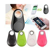 gps sesleri toptan satış-Mini Kablosuz Telefon Bluetooth 4.0 Hiçbir GPS Tracker Alarm iTag Anahtar Bulucu ios Android Smartphone Için Ses Kayıt Anti-kayıp Özçekim Shutter