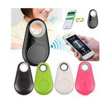 wireless key finder großhandel-Mini Wireless-Telefon Bluetooth 4.0 Keine GPS-Tracker-Alarm iTag Key Finder Sprachaufzeichnung Anti-verlorene Selfie Shutter für iOS Android Smartphone