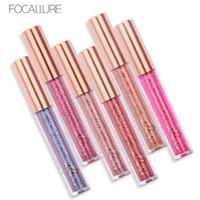 Wholesale focallure lipsticks for sale - Group buy FOCALLURE Colors Liquid Matte Lipstick Cosmetics Makeup Chameleon Liquid LipsticksLip Gloss Stick Make up Lips Lipgloss Refly