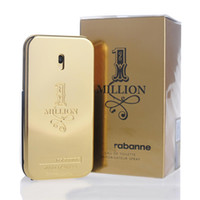 Wholesale good smelling perfumes for men resale online - Famous Brand MILLION perfume for Men ml with long lasting time good smell good quality high fragrance capactity