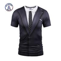 7079d9d4045383 Sommerartt-shirt Frauen   Männer fälschen zwei Stücke Hemden Drucken Sie T- Shirt des T-Stücks 3d T-Stücke plus Größe S-3XL Freies Verschiffen