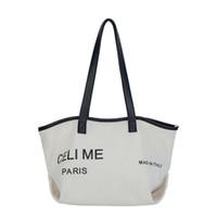neue frauen handtaschen koreanischen großhandel-Große Kapazität Korean Spezielle Übergroße Umhängetasche Lässig Frauen Tasche Handtasche Neue Herbst Frauen Handtaschen Brief
