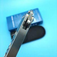 Wholesale folding box spring - BM BM43 Spring latch Channel construction handle Single Edge Outdoor gift knife knives new in original box bm42 bm47
