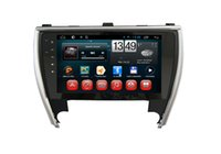Wholesale android tv for camry for sale - Quad Core GB RAM Android Car DVD GPS Navigation Multimedia Player Car Stereo for Toyota Camry Car Headunit Radio Wifi